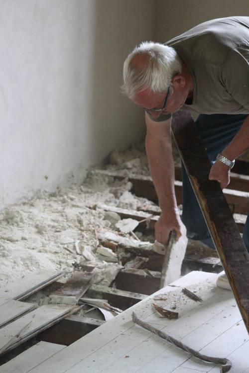 7 démontage plancher