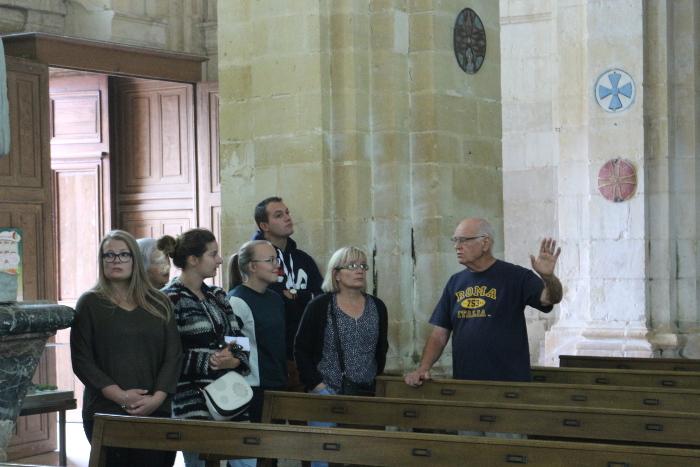 Visite guidée du Prieuré (M. JANES)