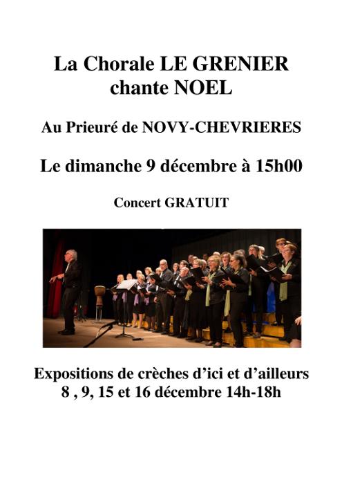 La Chorale LE GRENIER chante NOEL