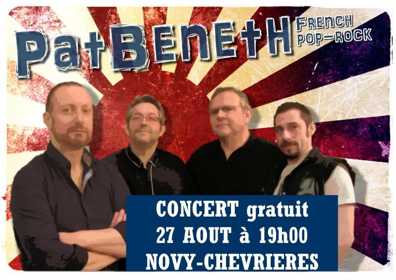 Affiche groupe patbeneth 2016
